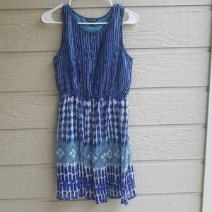 Lucky brand pleated dress size XS